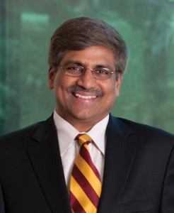 "ASU Sustainability Scientist Sethuraman ""Panch"" Panchanathan"