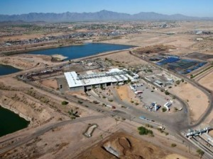 Aerial view of the Phoenix RISN campus