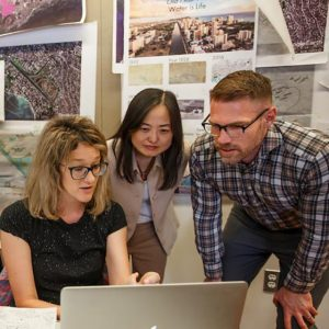 Vision for rehabilitated watershed lands ASU team with award