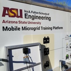 Mobile Microgrid Training Platform