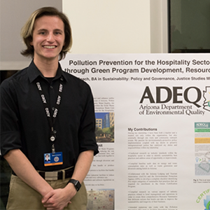 Undergrad helps the tourism industry become certifiably green