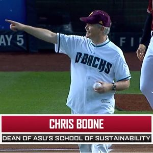 Boone First Pitch