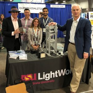 ASU LightWorks talks carbon at EarthX