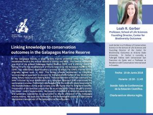 Galapagos Marine Reserve: From knowledge to conservation