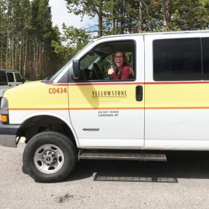 Sustainability alumna uses her degree at Yellowstone