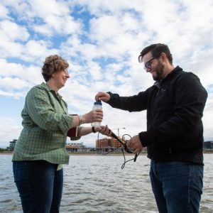 Tempe Town Lake sends message in a bottle