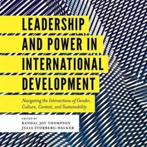 Leadership and Power in international development book cover