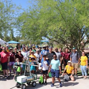 Tempe Heat Walk community event group photo