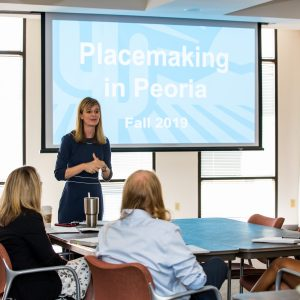 Placemaking in Peoria event Fall 2019