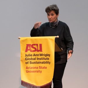Christiana Figueres Wrigley Lecture ASU