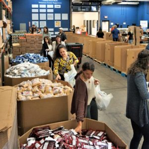 Feeding the hungry: A day with the United Food Bank
