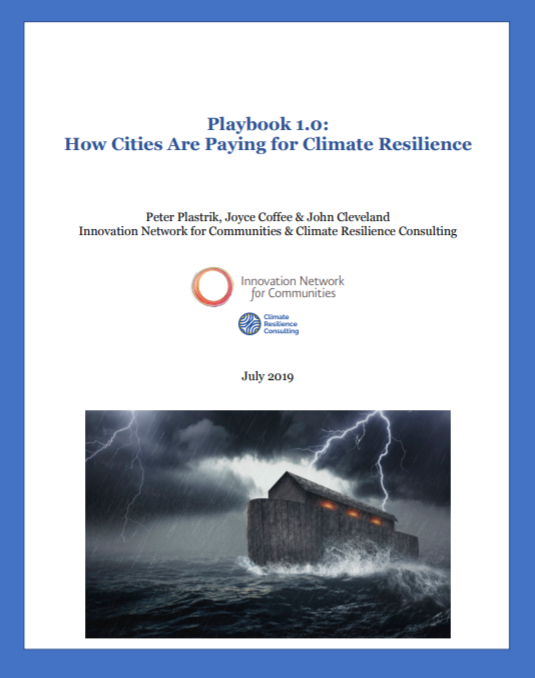 Playbook 1.0: How Cities are Paying for Climate Resilience