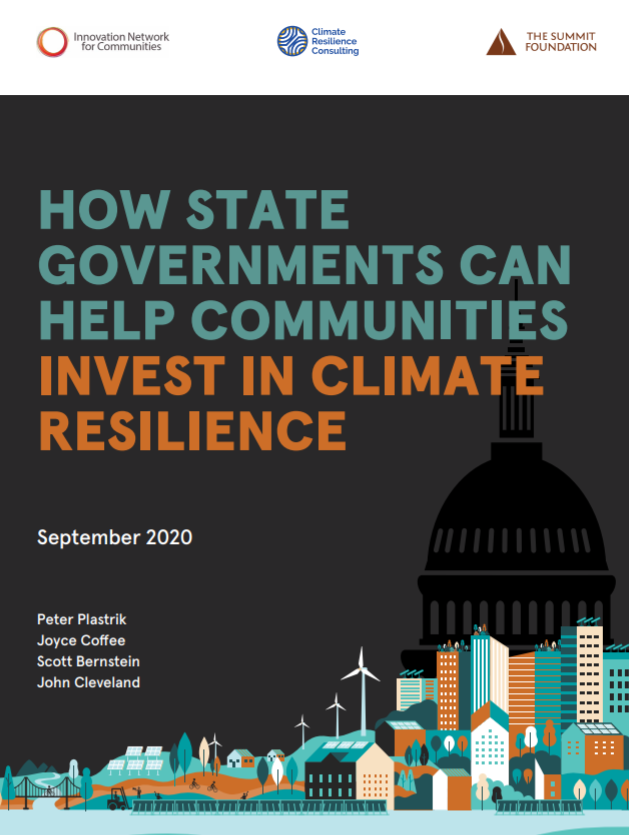 How State Governments can Help Local Communities Invest in Climate Resilience
