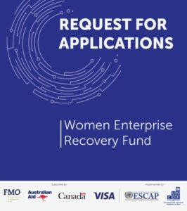 Call for Applications: Women Enterprise Recovery Fund