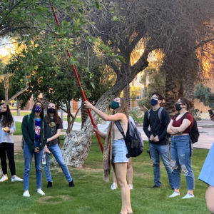 Campus Food Tour: Connecting Students to ASU's Food Forest